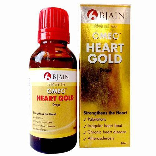 Homeopaty Heart Gold drops for Strenghens the heart