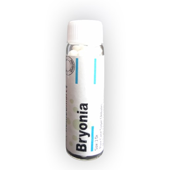 Homeopathy Bryonia Alba Pills for Flu, Joint pain, headache, dry cough