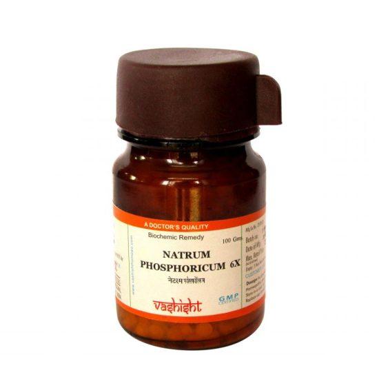 Dr.Vashisht Natrum Phosphoricum Biochemic Tissue Salts 6x