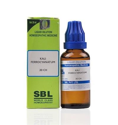 SBL Kali Ferrocyanatum Homeopathy Dilution 6C, 30C, 200C, 1M, 10M, CM