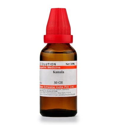 Schwabe Kamala Homeopathy Dilution 6C, 30C, 200C, 1M, 10M