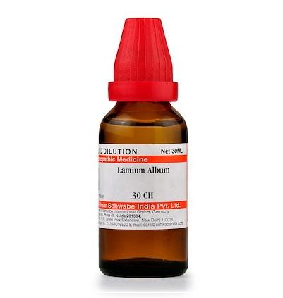 Schwabe Lamium Album Homeopathy Dilution 6C, 30C, 200C, 1M, 10M
