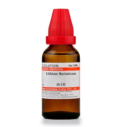 Schwabe Lithium Muriaticum Homeopathy Dilution 6C, 30C, 200C, 1M, 10M