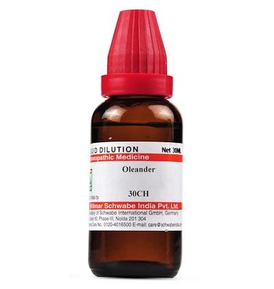 Schwabe Oleander Homeopathy Dilution 6C, 30C, 200C, 1M, 10M