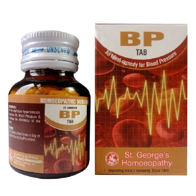 St.George BP Tab, Homeopathy Blood Pressure Medicine