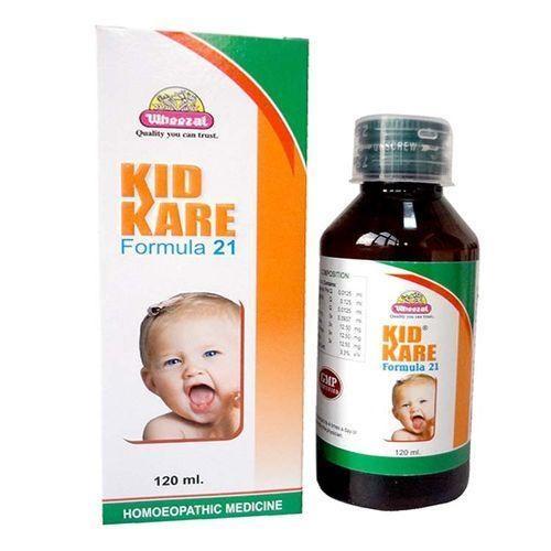 Kid Kare Syrup Formula 21 for Dentition Syndromes in Children