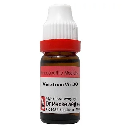 Dr Reckeweg Germany Veratrum Viride Homeopathy Dilution 6C, 30C, 200C, 1M, 10M