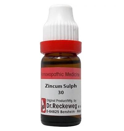 Dr Reckeweg Germany Zincum Sulphuricum Homeopathy Dilution 6C, 30C, 200C, 1M, 10M