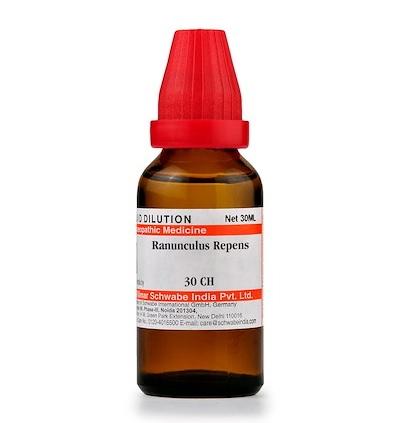 Schwabe Ranunculus Repens Homeopathy Dilution 6C, 30C, 200C, 1M, 10M