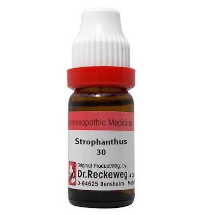 Dr Reckeweg Germany Strophanthus Hispidus Homeopathy Dilution 6C, 30C, 200C, 1M, 10M