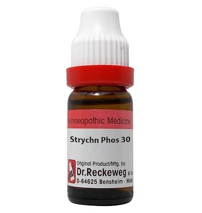 Dr Reckeweg Germany Strychninum Phosphoricum Homeopathy Dilution 6C, 30C, 200C, 1M, 10M