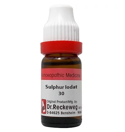 Dr Reckeweg Germany Sulphur Iodatum Homeopathy Dilution 6C, 30C, 200C, 1M, 10M