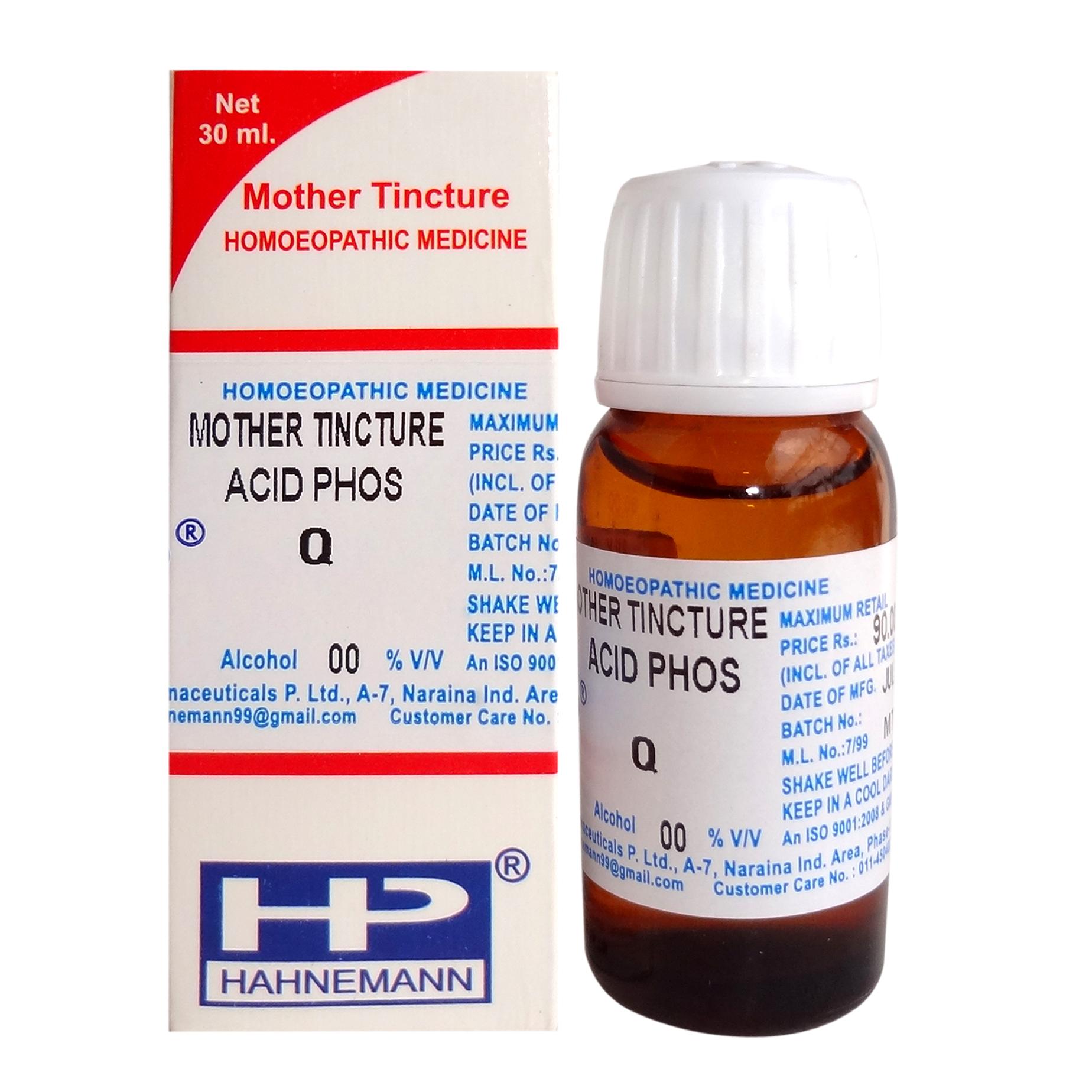 Acidum Phosphoricum Mother Tincture from Reckeweg, Hahnemann, Sbl, Schwabe