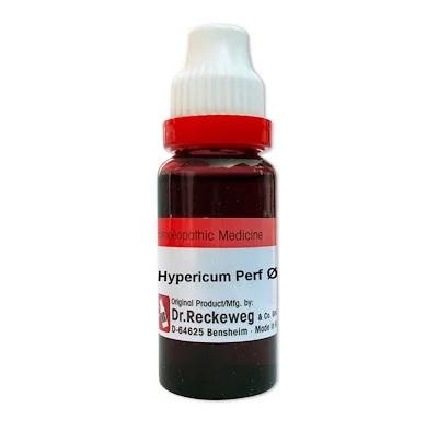 Reckeweg Hypericum perforatum Homeopathy Mother Tincture