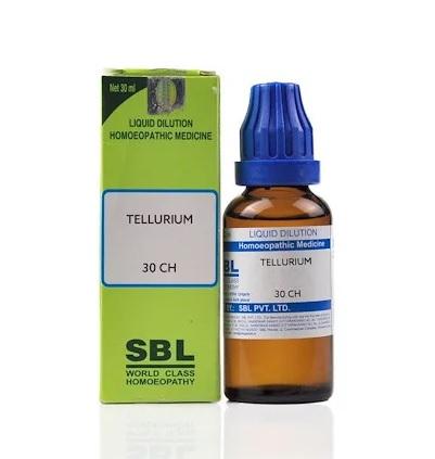 SBL Tellurium Homeopathy Dilution 6C, 30C, 200C, 1M, 10M