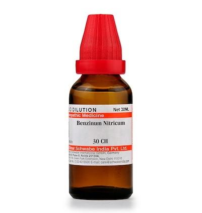 Schwabe Benzinum Nitricum Homeopathy Dilution 6C, 30C, 200C, 1M, 10M