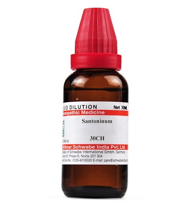 Schwabe Santoninum Homeopathy Dilution 6C, 30C, 200C, 1M, 10M