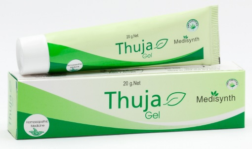 Medisynth Thuja Gel homeopathy medicine for warts and corns