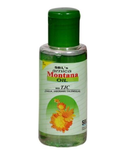 SBL Arnica Montana Hair Oil with Thuja, Jaborandi, Calendula