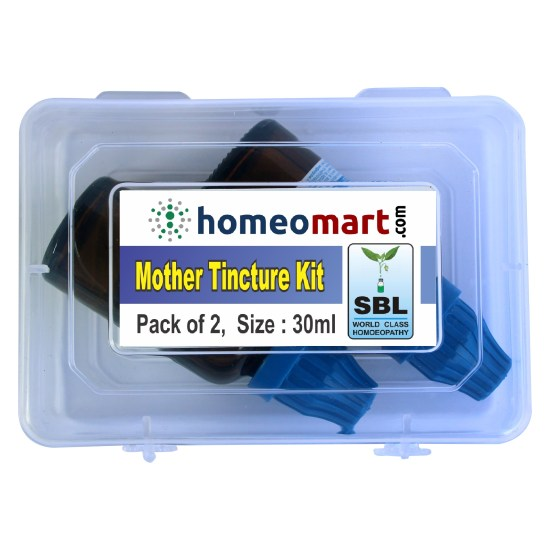 Homeomart Homeopathic Mother Tincture Kit Pack of 2 from SBL 30ml each
