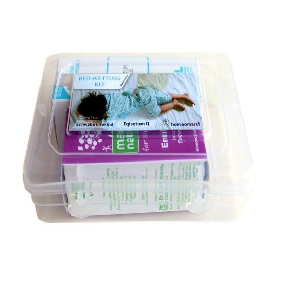 Homeopathy Bedwetting kit with Enukind, Equisetum