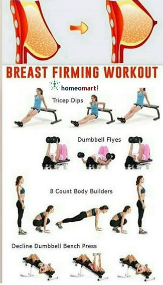 breast firming exercises and tips