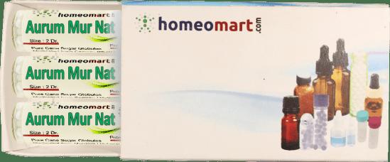Aurum Muriaticum Natronatum homeopathy pellets