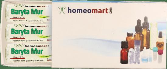 Baryta Mur homeopathy pellets