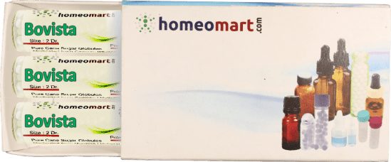 Bovista homeopathy pellets