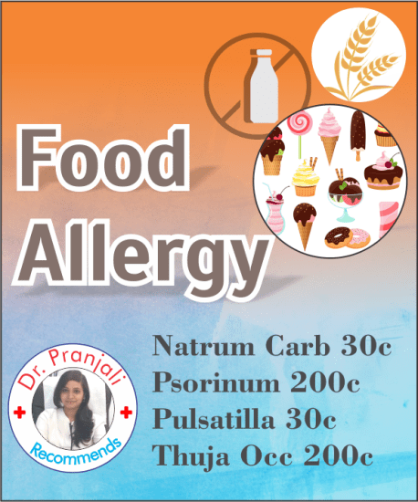 Top homeopathy medicines for food allergy