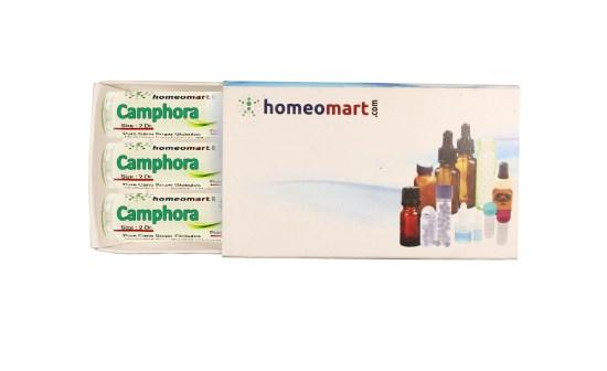 Camphora Homeopathic Medicine Pills Box