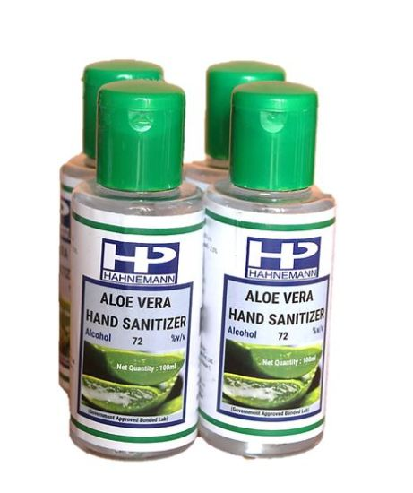 Advanced Herbal Hand Sanitizer with Aloevera with 80% Ethyl Alcohol