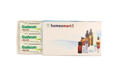 Guaiacum homeopathy pills