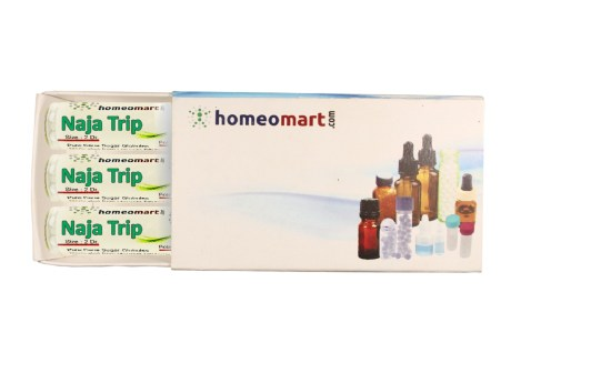 Naja Tripudians homeopathy pills