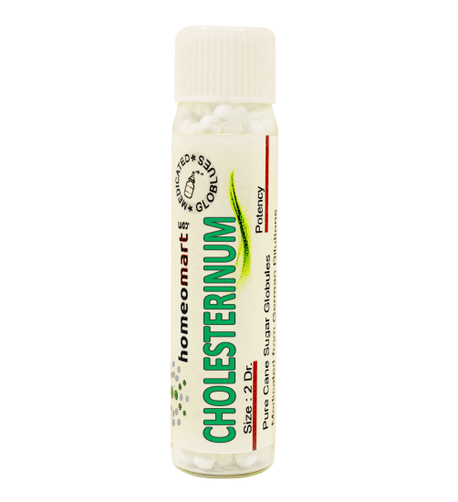 Cholesterinum homeopathy pellets