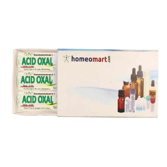 Acidum Oxalicum Homeopathy 2 Dram Pellets 6C, 30C, 200C, 1M, 10M