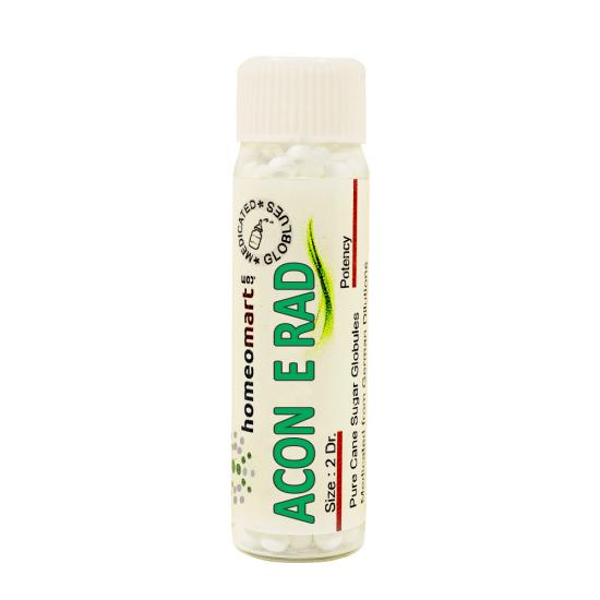Aconitue E Radice Homeopathy 2 Dram Pellets 6C, 30C, 200C, 1M, 10M