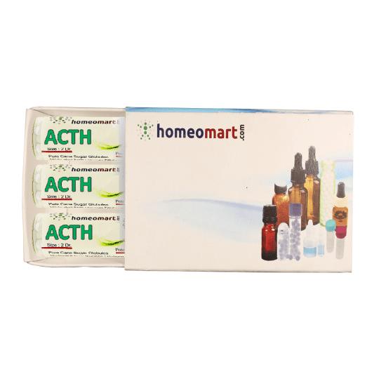 Adrenocorticotrophic (ACTH) Homeopathy 2 Dram Pellets 6C, 30C, 200C, 1M, 10M
