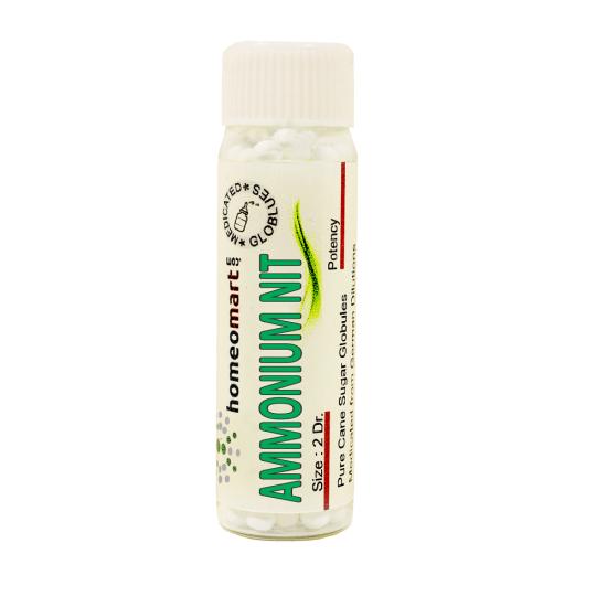 Ammonium Nitricum Homeopathy 2 Dram Pellets 6C, 30C, 200C, 1M, 10M