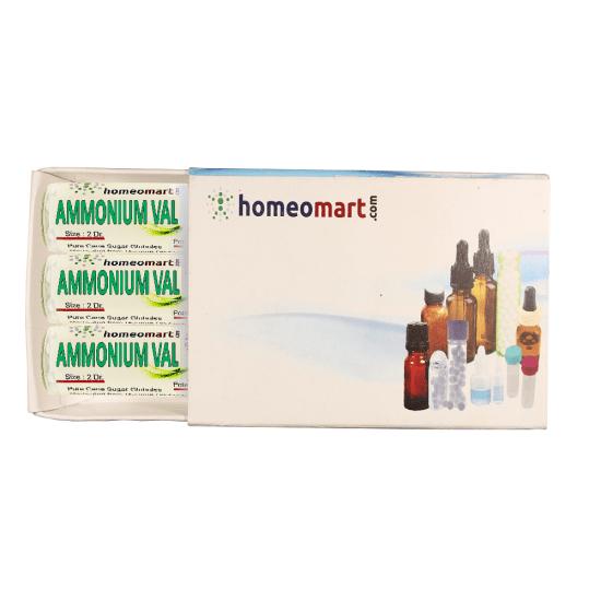 Ammonium Valerianicum Homeopathy 2 Dram Pellets 6C, 30C, 200C, 1M, 10M