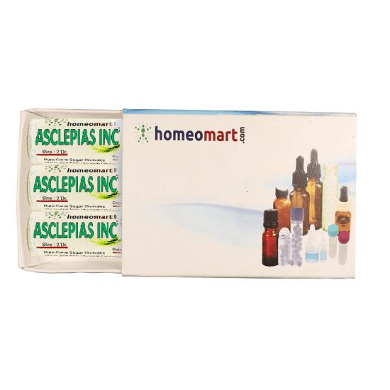 Asclepias Incarnata Homeopathy 2 Dram Pellets 6C, 30C, 200C, 1M, 10M