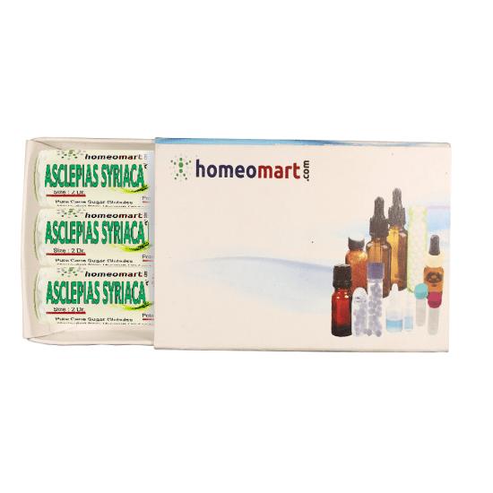 Asclepias Syriaca Homeopathy 2 Dram Pellets 6C, 30C, 200C, 1M, 10M