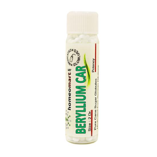 Beryllium Carbonicum Homeopathy 2 Dram Pellets 6C, 30C, 200C, 1M, 10M