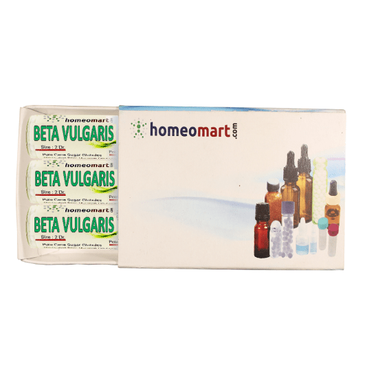 Beta Vulgaris Homeopathy 2 Dram Pellets 6C, 30C, 200C, 1M, 10M