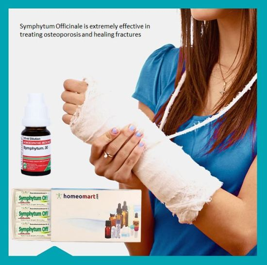 """best medicine for bone fracture, bone fracture healing, bone fracture pain relief medicine, symphytum officinale homeopathy for bone fracture"""