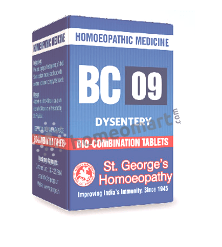 St. George's Biocombination 09 (BC09) tablets for dysentry