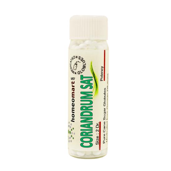Coriandrum Sativum Homeopathy 2 Dram Pellets 6C, 30C, 200C, 1M, 10M