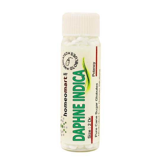Daphne Indica Homeopathy 2 Dram Pellets 6C, 30C, 200C, 1M, 10M