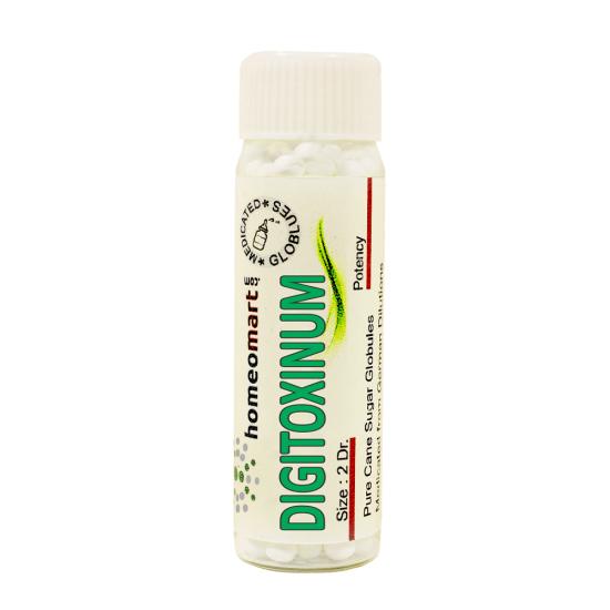Digitoxinum Homeopathy 2 Dram Pellets 6C, 30C, 200C, 1M, 10M
