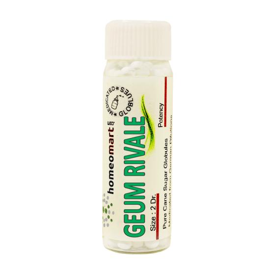 Geum Rivale Homeopathy 2 Dram Pellets 6C, 30C, 200C, 1M, 10M